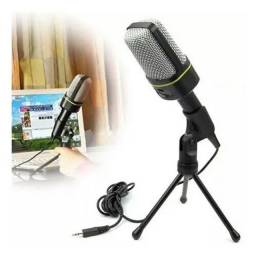 Microfone Condensador Sf-920 Gravação Pc Cabo Tripe