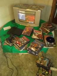 Console Playstation 2 (Jogos original)
