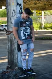 Camisetas masculinas LONG LINE