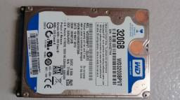 HD 320Gb para notebook