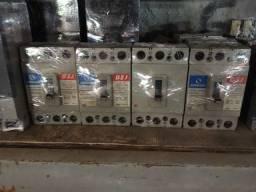 Disjuntores caixa moldada de 100 a 1600 amperes
