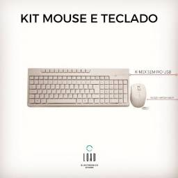 Kit Mouse e Teclado S/ FIO K-MEX