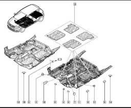 Revestimento Do Assoalho Renault sandero e logan