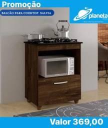 balcão marrom para cooktop direto da fabrica