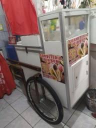Vendo carro de sorvete