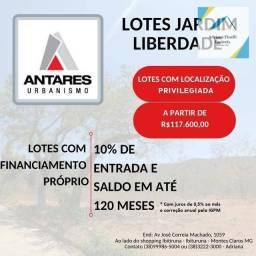 Título do anúncio: Terreno à venda, 240 m² por R$ 117.600,00 - Jardim Liberdade - Montes Claros/MG