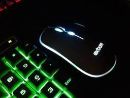 Teclado e  mouse Gamer com led