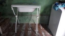 Trocador e banheira