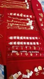 Título do anúncio: Semi jóias magold , pronta entrega , aceito cartão com taxa .