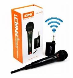 Microfone Sem Fio  Lelong Profissional