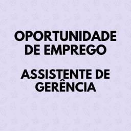 Título do anúncio: Assistente de gerência para empresa no ramo de Fast food em João Pessoa.