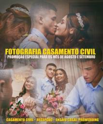 Fotografia Casamento, Civil, Recepção.