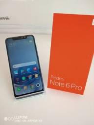 Xiaomi Note 6 Pro 64g memória 4g RAm