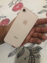 Iphone 8 zerado 25 dias de uso