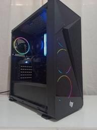 Título do anúncio: -pc game ryzen 5 / rx 570 4 gb rog strix