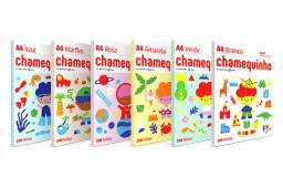 Título do anúncio: Papel Chamequinho colorido A4