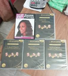 DVDs de curso
