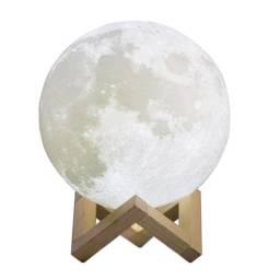 Moon Lamp - Umidificador de Ar com Abajur em Formato de Lua