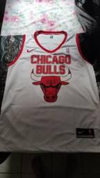 Camisa de Basquete do Chicago Bulls