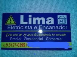 Lima eletricista e encanador