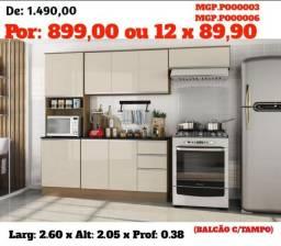 Liquida em Presidente Prudente - Cozinha Compacta Com Balcão ou Armario de Cozinha