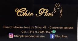 Chic Plus Roupas tamanhos grandes do 42 ao 74 masculina e feminina