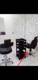 Título do anúncio: Cadeira giratória para salão de beleza.