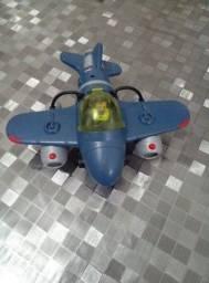 Aviões Imaginext Sky Abelha e Azul Guerra