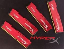 Memória Hyper X Fury DDR3 4x4G