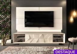 Título do anúncio: Rack com Painel Domani para TV até 75'  - Catálogo completo via whats
