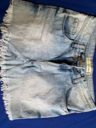 Saia jeans BLACK JEANS tam 40 (forma pequena)