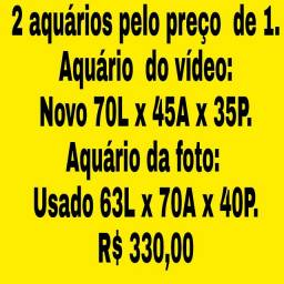 2 aquários pelo preço de 1.