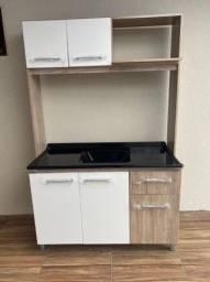 Cozinha Compacta com Tampo 1.20