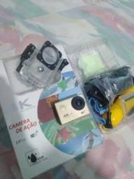 Câmera 4k (Action Cam) - Aceito cartão pelo mercado pago
