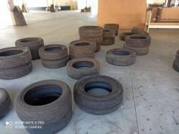 Lote de pneus usados