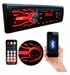 Auto Radio Bluetooth 2 USB Carregador de Celular