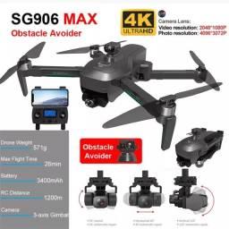 Drone Beast SG906 Pro 3 Max Com Sensor De Obstáculo Dual Câmera 4k 1200mts