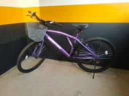 Bicicleta aro 26 Houston Bristol Lance com 21 marchas violeta