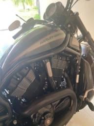 Harley Davidson V-ROD Night 1250 cc baixíssimo KM 2016/2016 raridade . Moto colecionador
