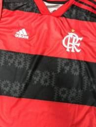Manto Flamengo Tecido Oficial PMG e GG