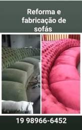 Promoção para reforma de sofas