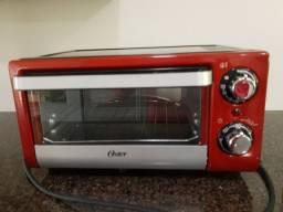 Título do anúncio: Forno Elétrico Oster 10 Litros Compact 1000W Vermelho 220V