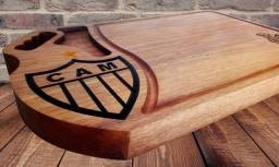 Tábua de churrasco do Atlético Mineiro