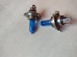 Lâmpada azul xenon pra farol de carro