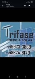 Título do anúncio: Trifase Solar