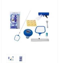 Título do anúncio: Kit acessórios de manutenção de limpeza de piscina.
