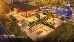 Título do anúncio: DX Com 2 quartos com varanda no Malia Beach II Últimas unidades em muro alto