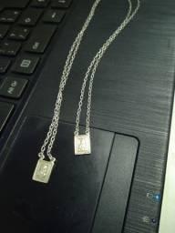 Escapulário de prata