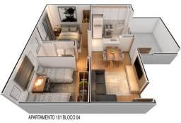 WR único apartamento em rio doce-Olinda com dois quartos e linda estrutura.