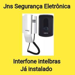 Título do anúncio: Interfone intelbras,já instalado